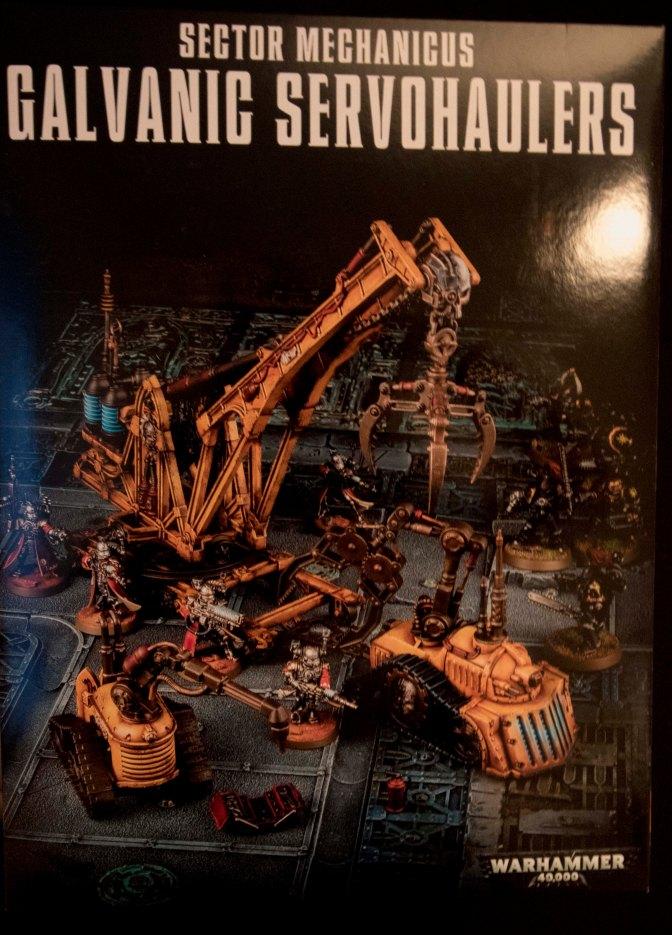 Sector Mechanicus: Galvanic Servohaulers Unboxing