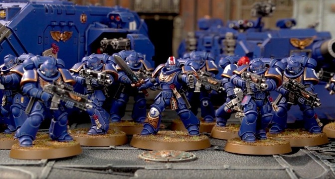 Primaris Space Marines Revealed!