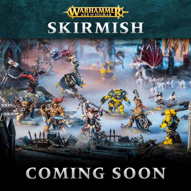 Breaking news! Warhammer Age of Sigmar Skirmish