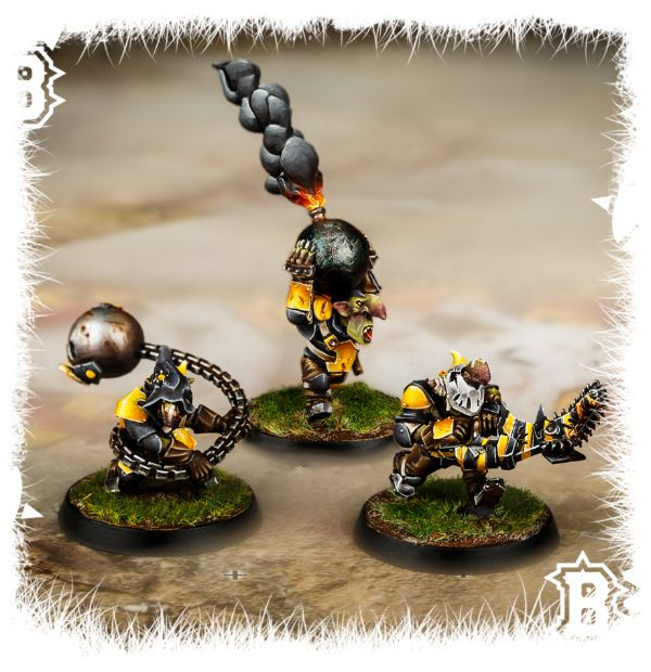 Forge World Blood Bowl Goblin Secret Weapons Unboxing