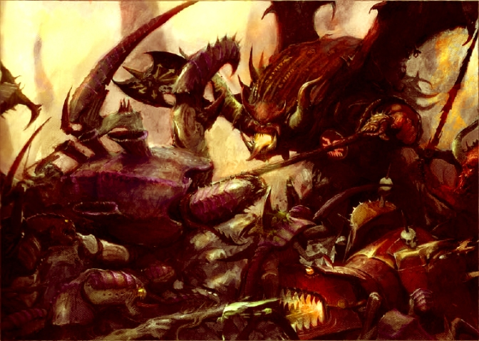 Daemons Vs Tyranids – 8th Edition Warhammer 40k Battle Report