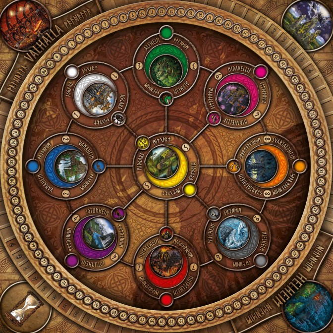 Nine Worlds by Medusa Games – UK Games Expo