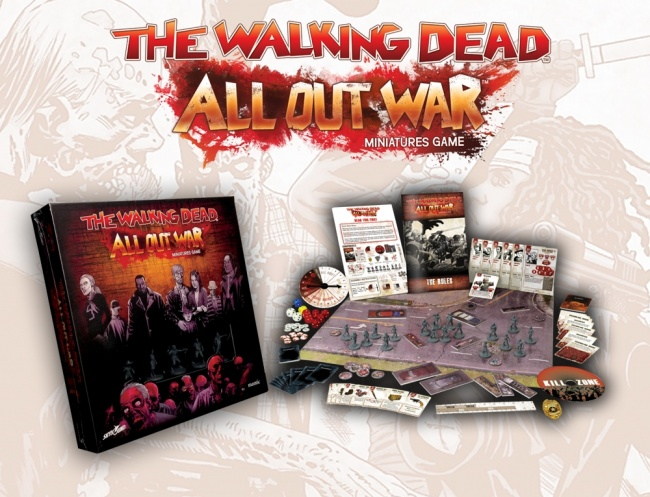 Mantic Games – The Walking Dead: All Out War – UK Games Expo 2017