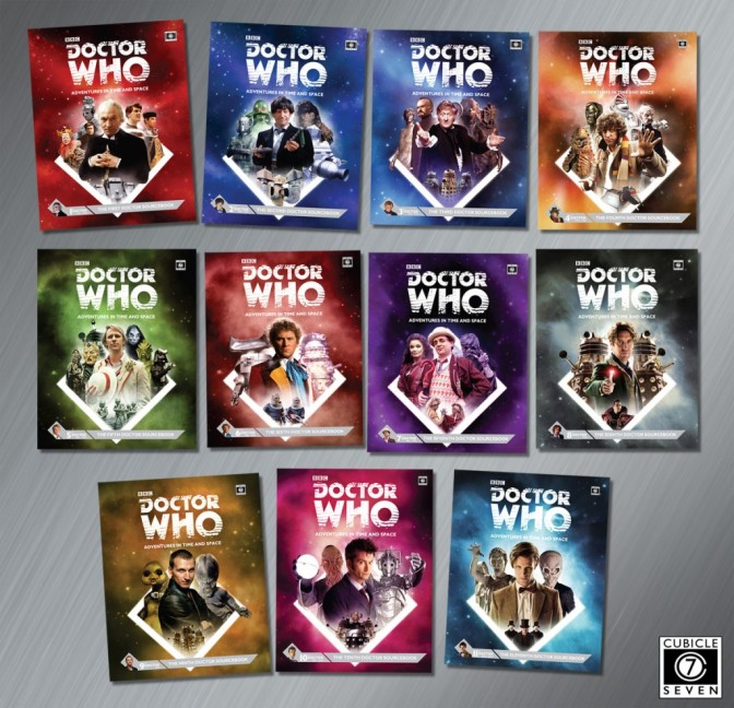 Doctor Who RPG Humble Bundle from Cubicle 7!