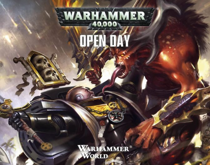Warhammer 40,000 Open Day 2017 (and maybe a hint to Necromunda release date?)