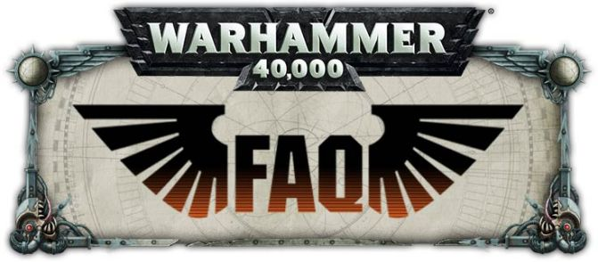 New 40k FAQs – Death Guard and Mechanicus