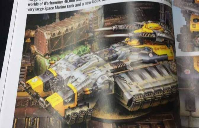 New Primaris Grav Tank from Forge World!