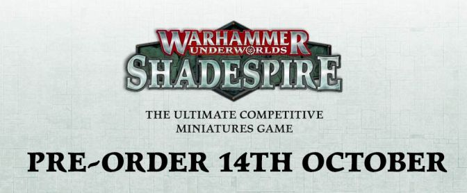 Shadespire Release date!