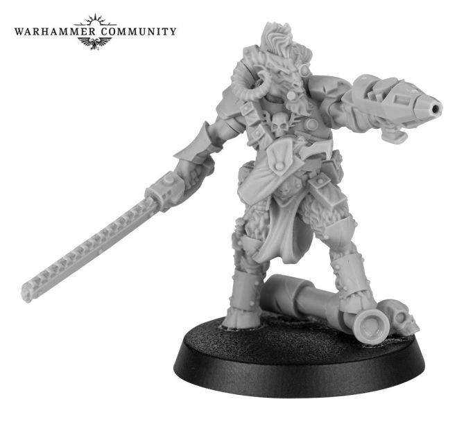 Forge World Beastman Bounty Hunter for Necromunda