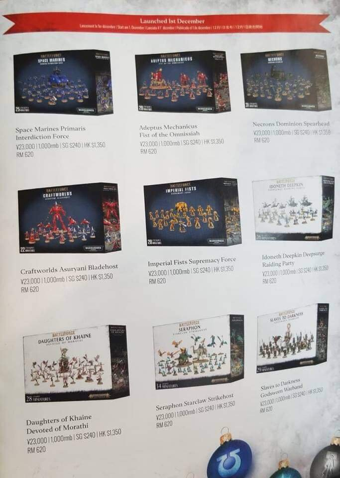 Warhammer Christmas Bundles 2020 Christmas Battleforce Boxes Revealed! – Sprues & Brews