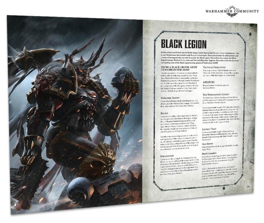 Next Week's Preorders: Abaddon! Chaos Marines! Updated Codex