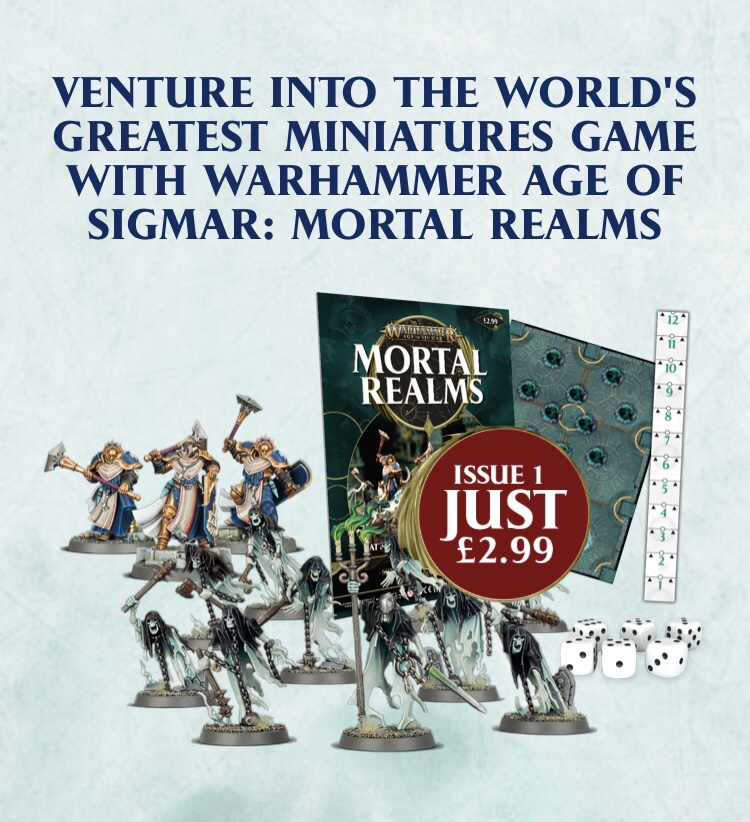 Warhammer Mortal Realms age Of Sigmar  issue 28