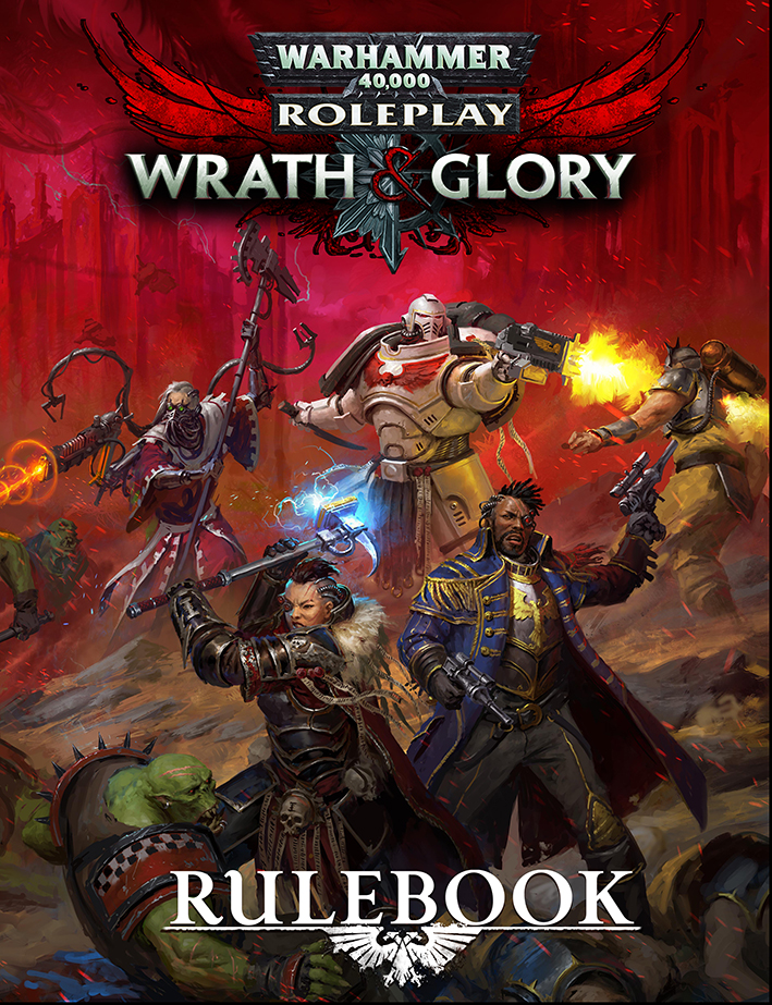 Warhammer 40k - Wrath and Glory - cover